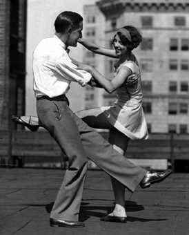 {Vintage Dancer}